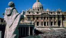 Predicando en el Vaticano