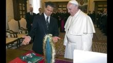 papa francisco visita en méxico peña nieto ?