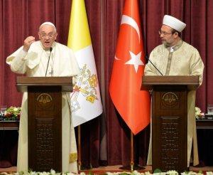 El papa Francisco hará alianza con el islám