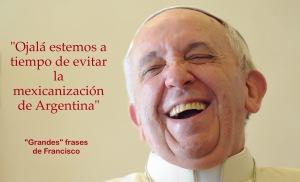 Evitemos la mexicanización de Argentina