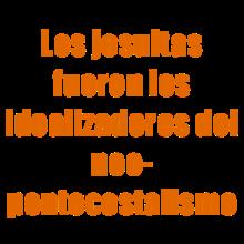 Los jesuitas fueron los idealizadores del neopentecostalismo pdf
