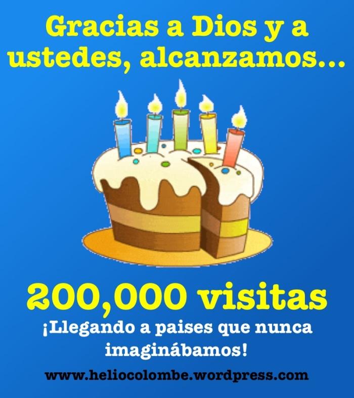 ¡200,000 Lectores!