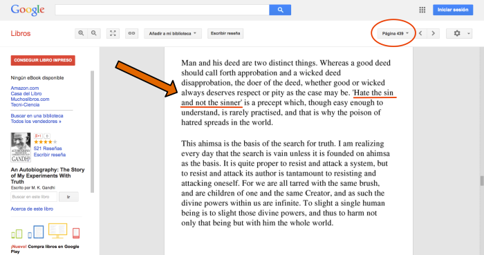 Autobiografia de Gandhi pdf